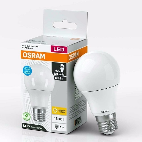 LÁMPARA LED E27 BULBO OSRAM