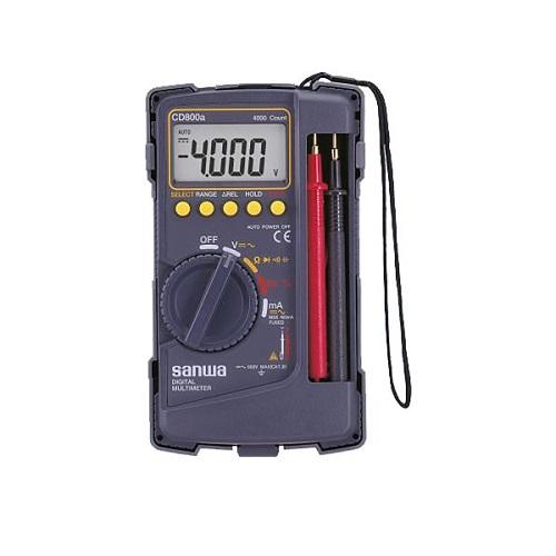 TESTER AC DMM  CD-800A SANWA