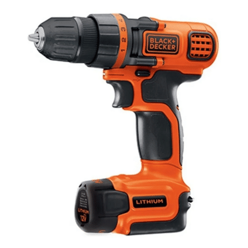 Taladro Inalámbrico 10mm 12V – BLACK + DECKER
