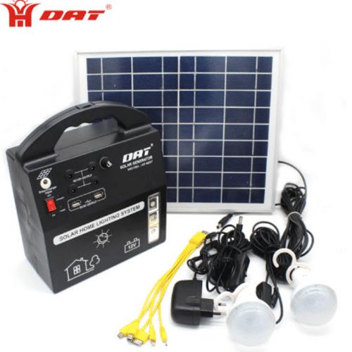 Kit Panel Solar Cargador Portátil – DAT