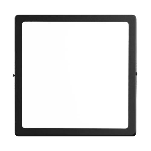 Plafón Led De Aplicar Negro (12w A 24w) – MACROLED