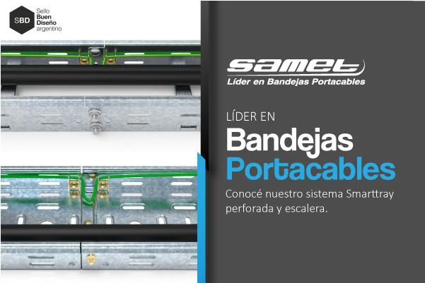 Samet Bandejas Portacables